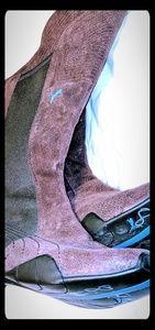 Rare puma women's riding boots